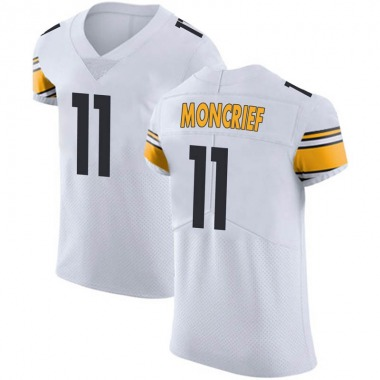 Men's Nike Pittsburgh Steelers Donte Moncrief Vapor Untouchable Jersey - White Elite