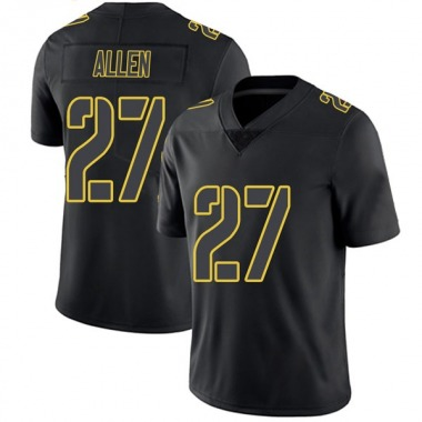 Men's Nike Pittsburgh Steelers Marcus Allen Jersey - Black Impact Limited