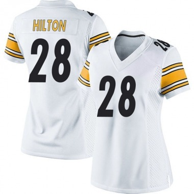 Women's Nike Pittsburgh Steelers Mike Hilton Jersey - White Game
