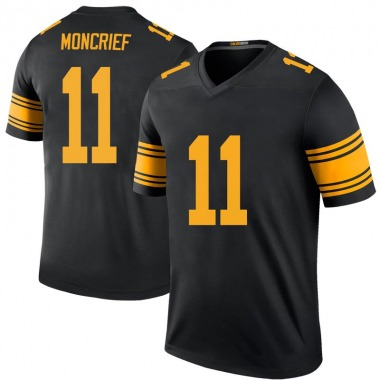 Youth Nike Pittsburgh Steelers Donte Moncrief Color Rush Jersey - Black Legend
