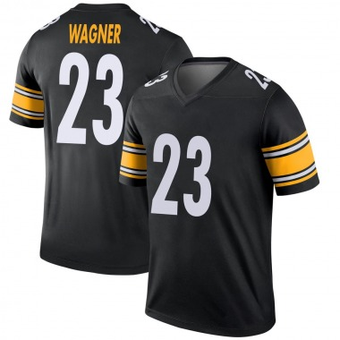Youth Nike Pittsburgh Steelers Mike Wagner Jersey - Black Legend