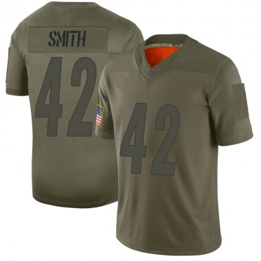 Youth Nike Pittsburgh Steelers Sutton Smith 2019 Salute to Service Jersey - Camo Limited